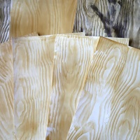Learn How to Make Faux Wood Grain With Creative Medium