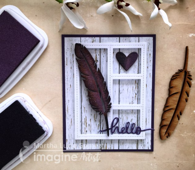 Create a Beautiful Handmade Card with Wood Elements