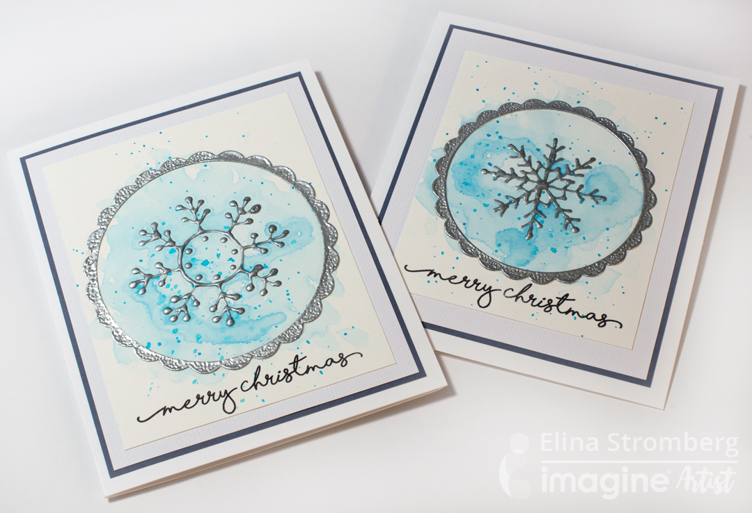 Less is More! See How to Create Quick and Easy Christmas Cards ...