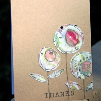 Upcycle Scraps to Make a Fresh Mixed Media Card