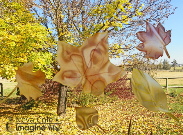 Make Your Fall Leaves Projects with Vertigo and Embossing Powder