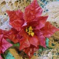 Use Foamiran and Delicata to Make Beautiful Poinsettias