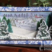 Learn How to Create a 3-D Holiday Card