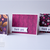 Watch a Video on Quick and Simple Handmade Thank You Cards