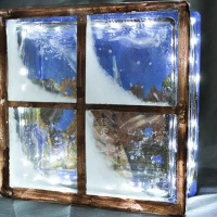 Tips on How to Create a DIY Glass Block Winter Scene