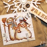Be Inspired by a Snowman Favor Bag for a Friend