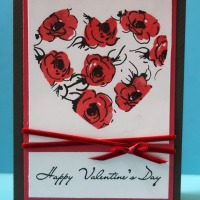 Create a Valentine's Card with VersaFine Clair