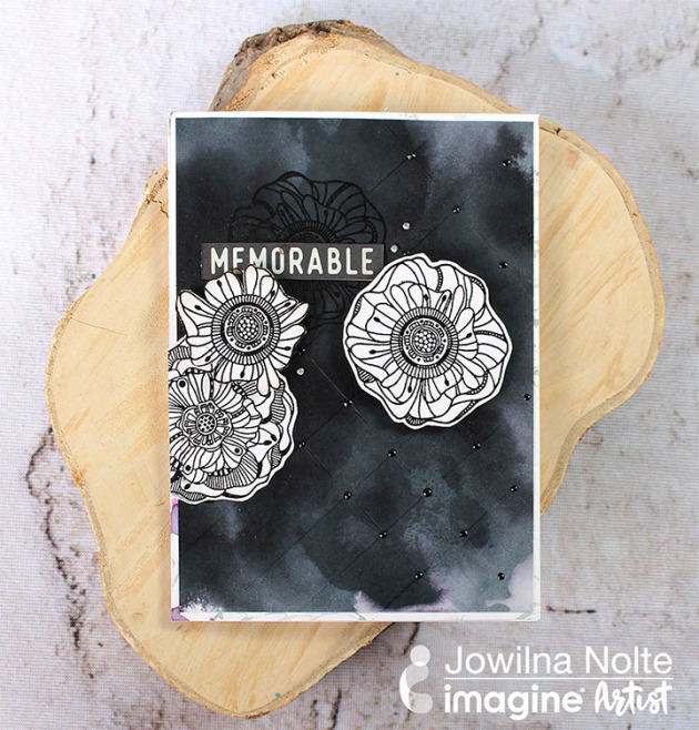 Create an Elegant Nocturne Black on Black Design by Jowilna Nolte