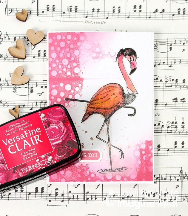 Make A Fun Flamingo Card for Any Occasion