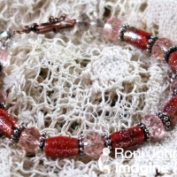 Learn to Make an Enamel Copper Bead Bracelet