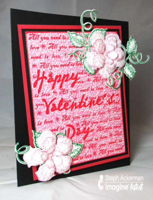 Make a Vivid and Impressive Valentine's Day Card
