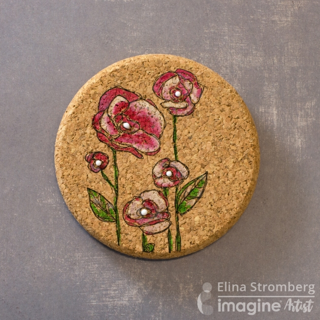 Learn How to Upcycle Cork Coasters