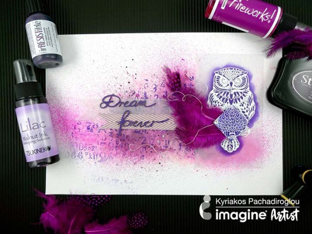 "Learn How to Design a ""Dream Forever"" Mixed Media Page"