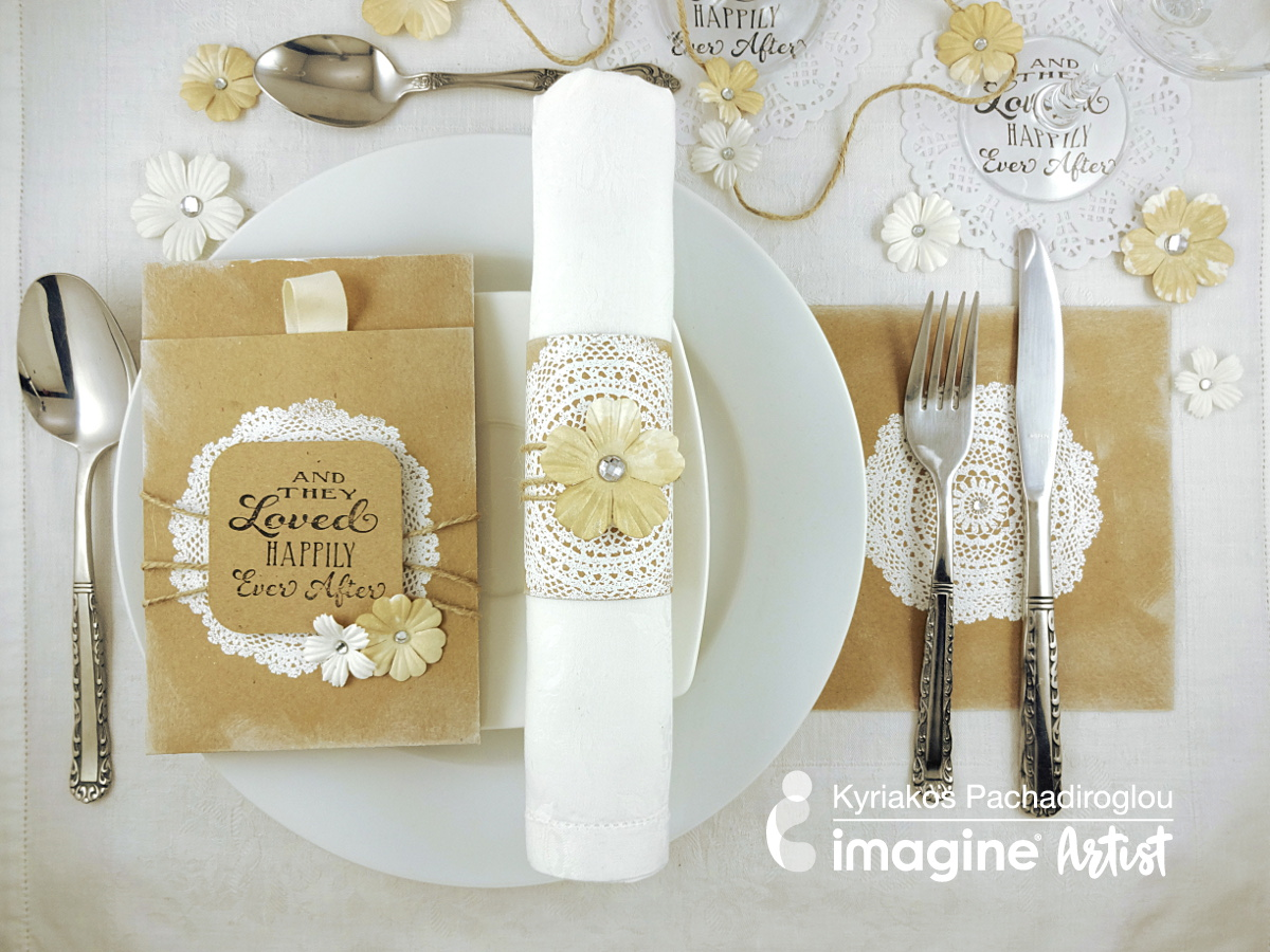 Projects: Elegant and Inexpensive Wedding Table Setting