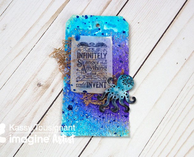 Create a Beautiful 'Under the Sea' Theme Tag
