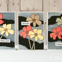 Make a Gorgeous Set of Cards with a Floral Theme