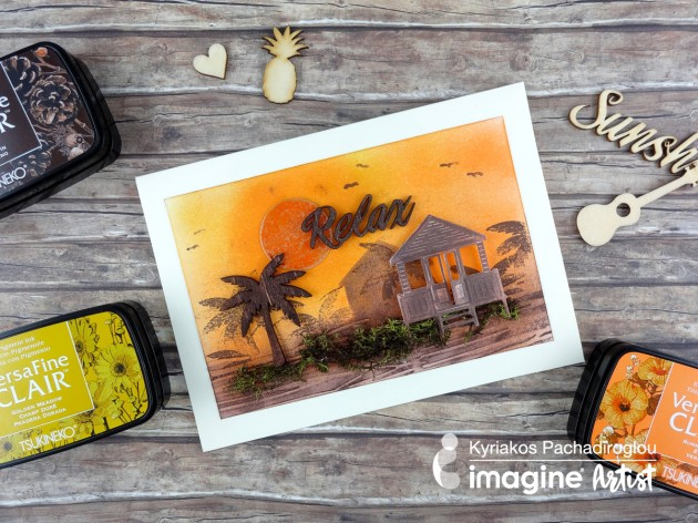 See How to Create a Relaxing Sunset with VersaFine Clair