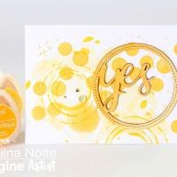 Create Mango Madness with VersaMagic DewDrops
