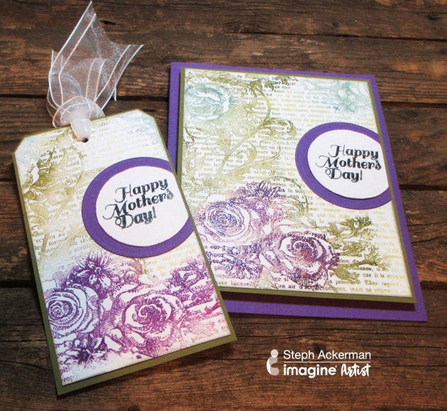 Create a Collage Style Mother's Day Card