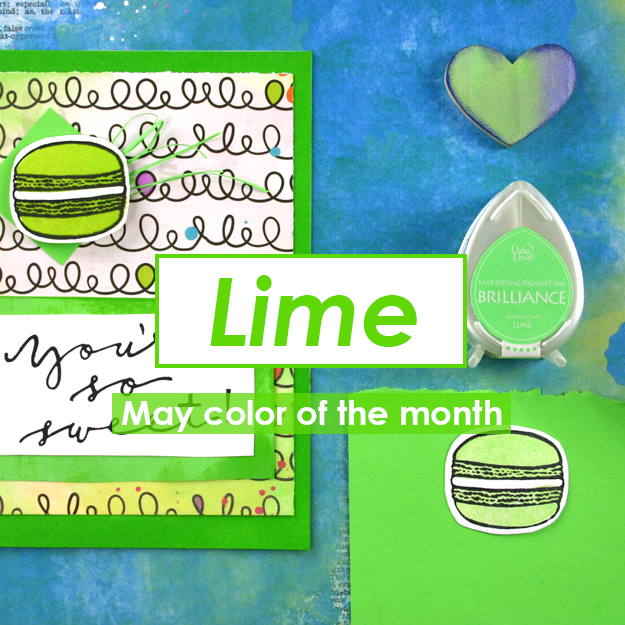 Color of the Month for May is Lime!