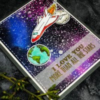 Learn How to Create a Beautiful Galaxy Background on a Card