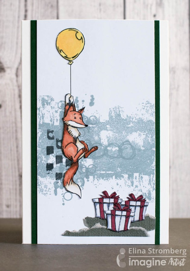 See How to Make this Cute Fox Theme Birthday Card
