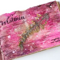 How to Create a Pressed Flower Art Journal Page