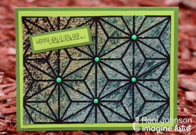 Wishing You a Day that Sparkles - cardmaking tutorial