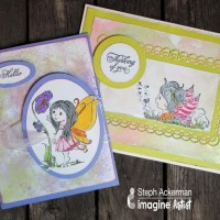 "See How to Make a ""Thinking of You"" Fairy Card"