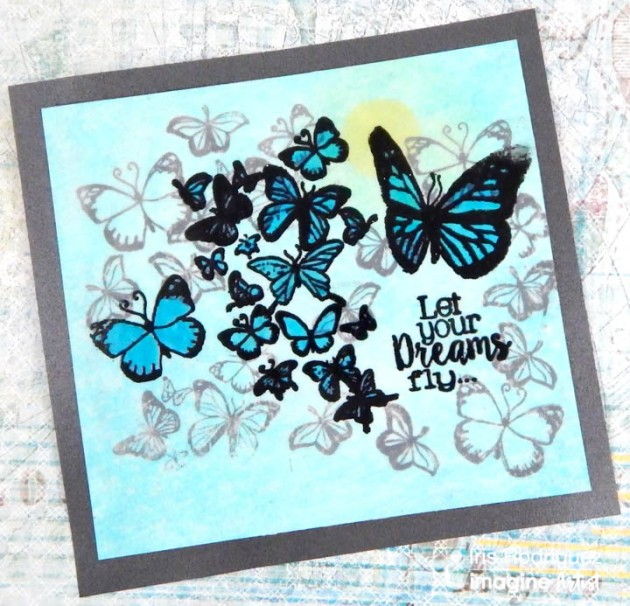 Create a Butterfly Card using Dura-lar Film.
