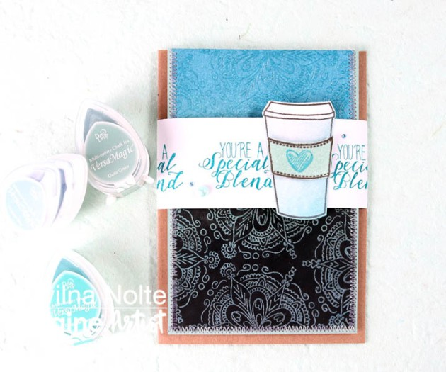Create a Coffee-Themed Father's Day Card
