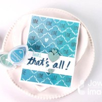 "Create a ""Shades of Sea Breeze"" Thank You Card"