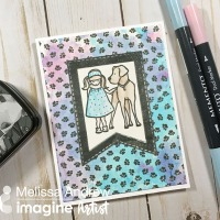 Watch a Video on Watercoloring with Memento Markers & VersaFine Clair