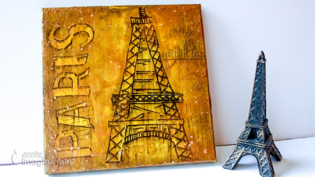 How to Draw the Eiffel Tower in Paris with Washi Tape