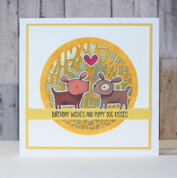 Gold Is An Excellent Choice For July A Month Filled With Bright Sunshine And Sparkle In This Tutorial Elina Create Sweet Birthday