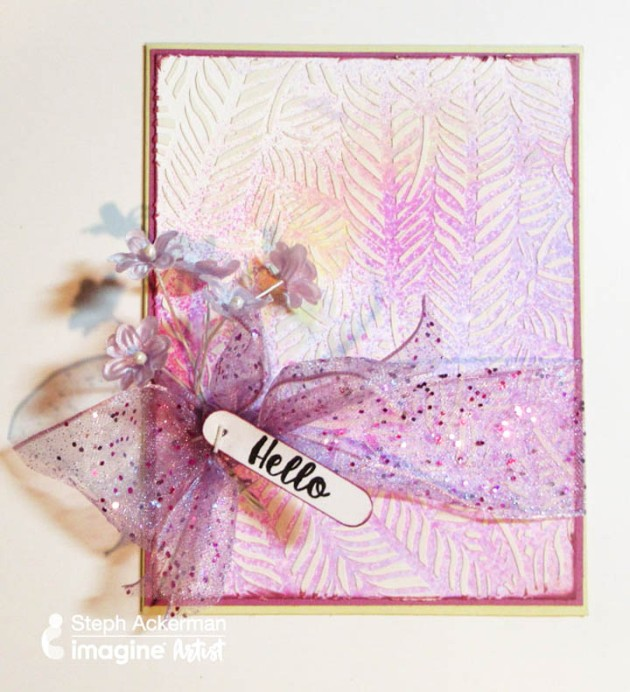 A Little Goes a Long Way by Steph Ackerman. Learn how to prepare several cards in one crafting session.