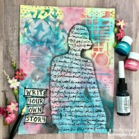 Create a Vibrant Art Journal Page to Tell Your Story