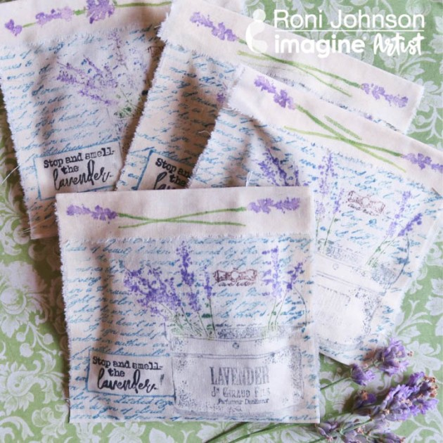 Learn How to Make Quick and Easy Lavender Sachets with Fabrico Markers