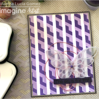 Create a Beautiful Lavender Butterfly Card