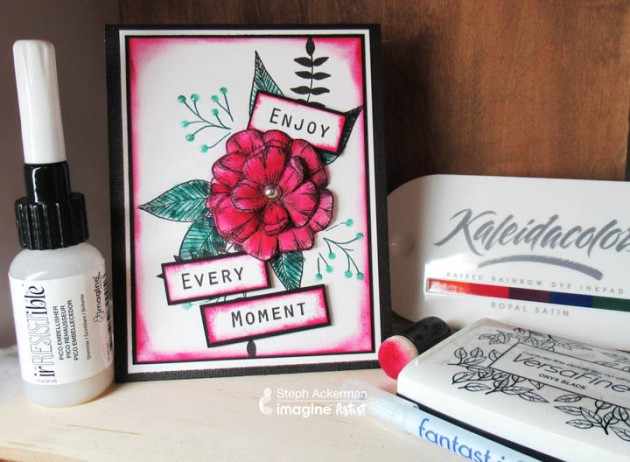 Enjoy Every Moment with this Cardmaking Tutorial