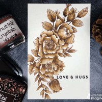 Learn Vintage Monotone Watercoloring with Walnut Ink