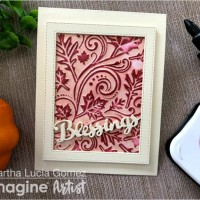 "Bring in the Fall Season with a ""Blessings"" Card"