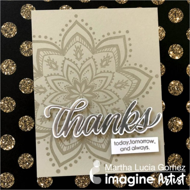 Create a Beautiful Mandala Thank You Card