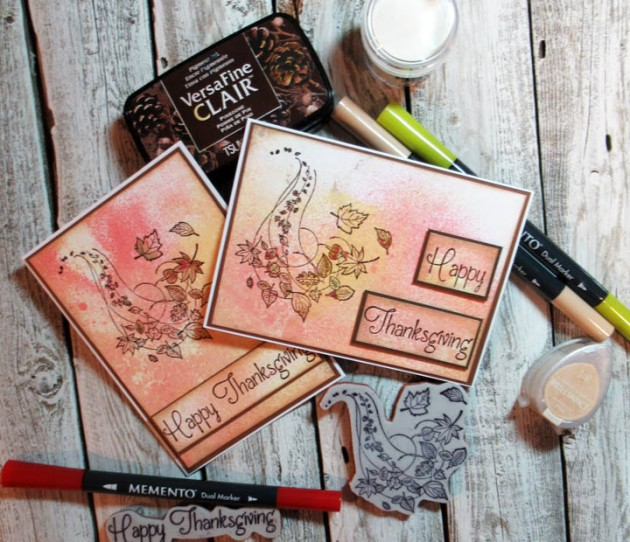 Prepare for Thanksgiving with a Cardmaking Tutorial