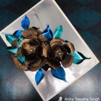Learn How to Make Shiny 3D flowers using Rinea Foils
