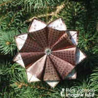 Learn How to Create Foil Paper Christmas Ornaments