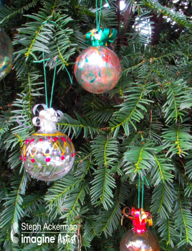 Learn How to Decorate Your Own Holiday Ornaments