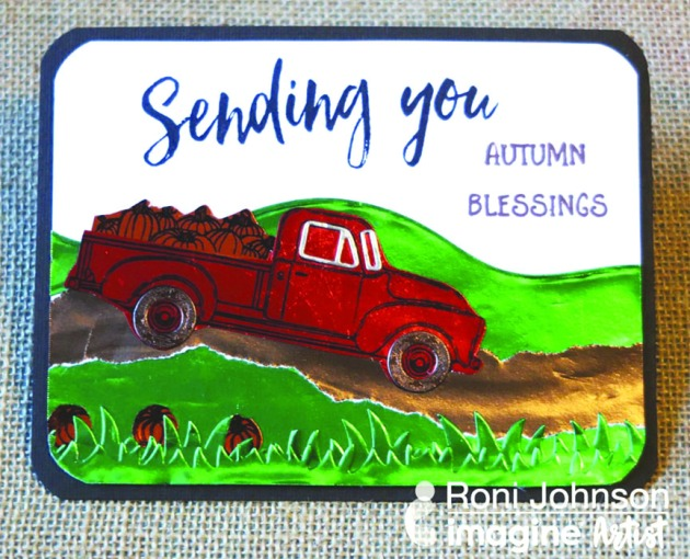 "Make a ""Sending You Autumn Blessings"" Greeting Card"