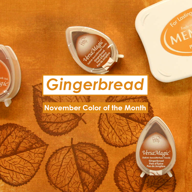 November Color of the Month is Gingerbread