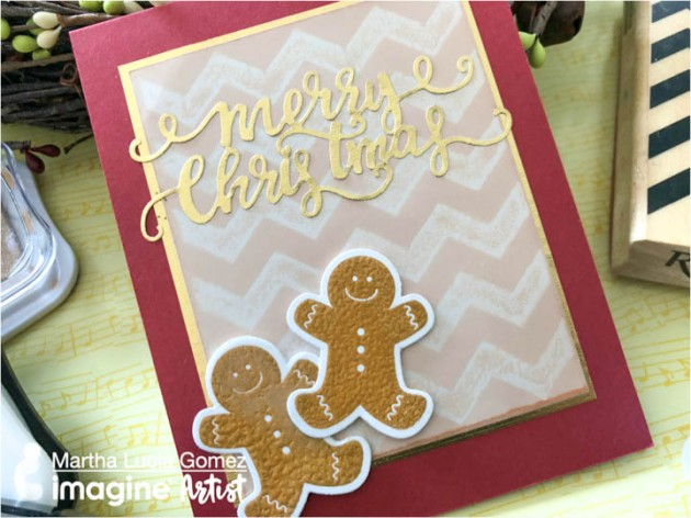 Use a Ghosting Technique to Create a Unique Christmas Card